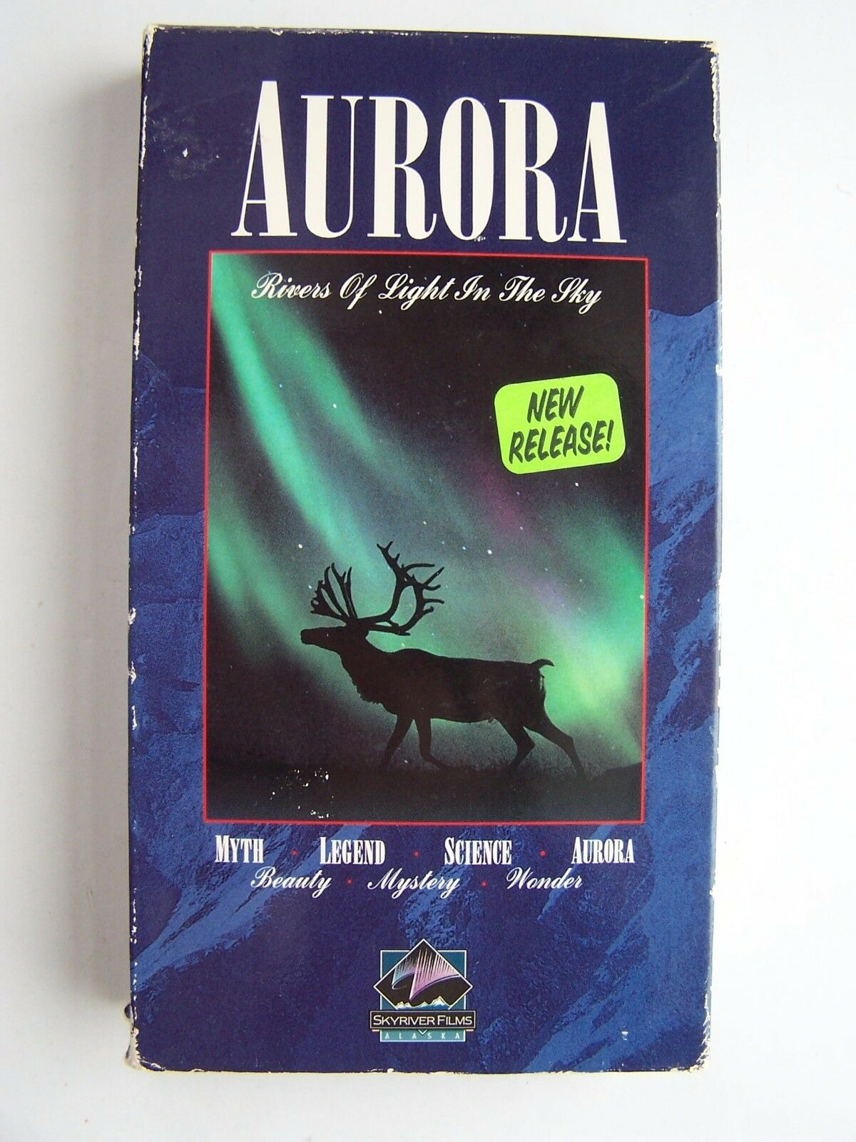 Aurora - Rivers of Light in the Sky VHS Video Tape