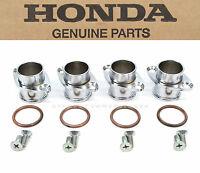Genuine Honda Exhaust Header Flanges Set 1969-1976 Cb750 K Head Kit C67
