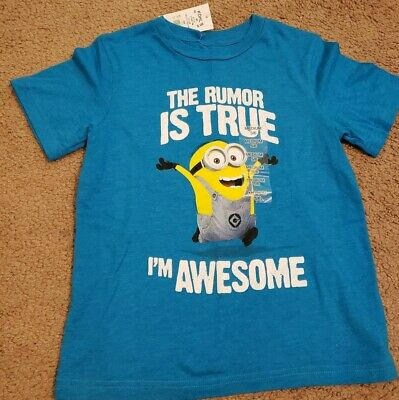 Minions Despicable Me New I/'m with Stupid Kids Boys Girls Children T Shirt 201