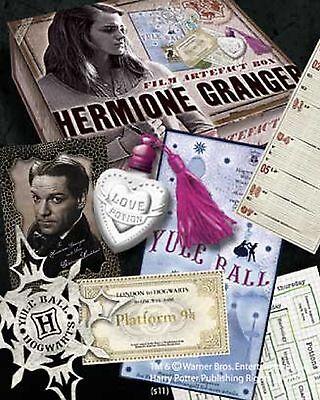 Harry Potter Hermione Artifact Box Film Collectors Artefact Hogwarts Noble Gift