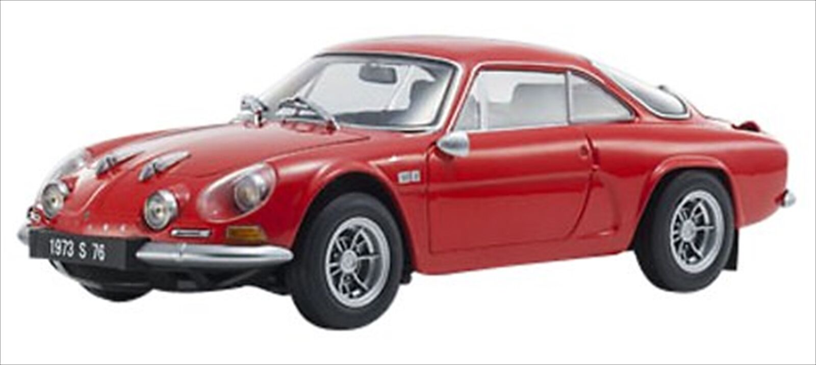 Kyosho Original 1 18 Renault Alpine A110 1600S rosso Diecast Modelo 8484R