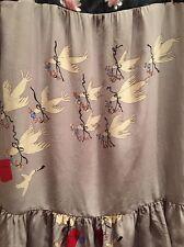 Rare Anthropologie Corey Lynn Calter Love Birds Doves Tunic Dress Or Top Euc