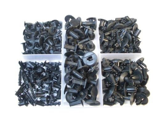Verkleidung Stoßstange Motorhaube 100 St. Sortiment 5 Clips Nieten f
