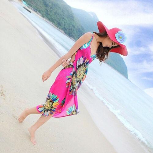 Deep V Wrap Beach Shawl Beach Dress Chiffon Swimwear Cover Up Sarong Bikini