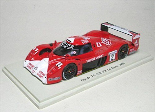 TOYOTA TS 020  2 30th LM 1999 Boutsen/Kelleners/McNish 1:43 MODEL s2383