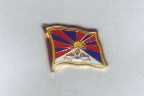 Tibet  Flaggenpin,Flagge,Flag,Pin,Badge