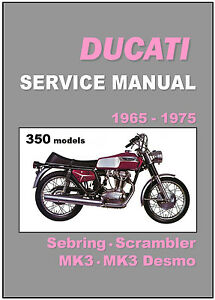ducati 250 mark 3 1967 1970 workshop service repair manual