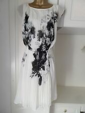 GORGEOUS LINED CHIFFON OCCASION DRESS BY MONSOON NWD SIZE UK 16 BUST 40""