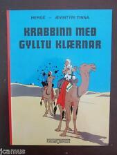 Tintin -  TINTIN ISLANDAIS Le crabe aux pinces d'or FJÖLVI 2003 NEUF RARE!