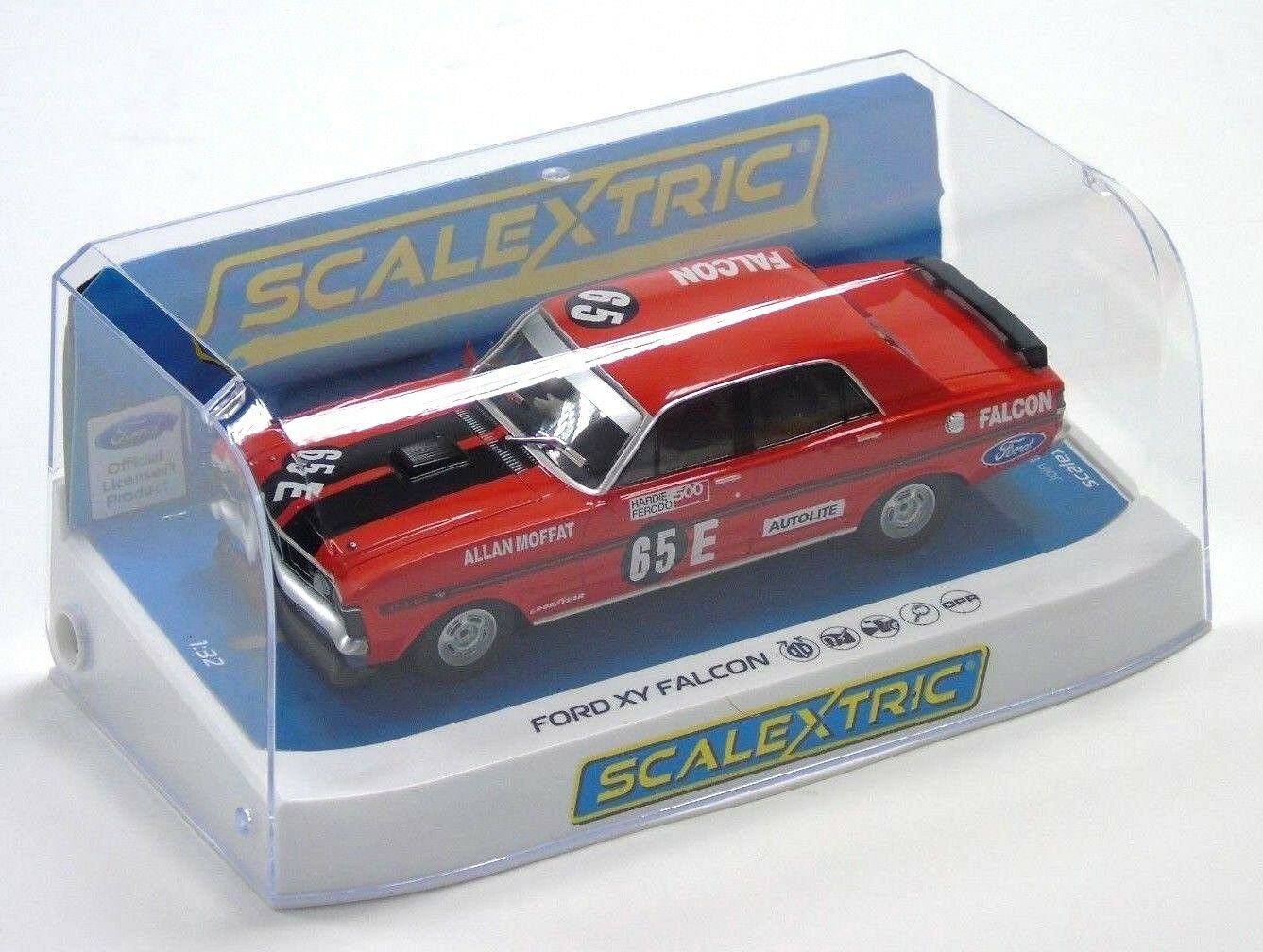C3928 Scalextric Slot Car Ford XY Falcon Bathurst 500 1971 1 32 Scale New Boxed