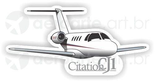 Cessna Citation CJ1 aircraft sticker