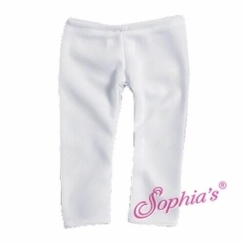 "18/"" Doll Clothes White Leggings fits 18/"" Doll White Leggings"