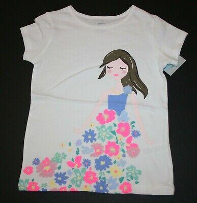 New Carter/'s Girls Flower Print Mint Pink Bike Shorts NWT 2T 6X 7 Girls