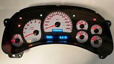 5c 03 04 2003 2004 Custom Ss Red Led Yukon Sierra Complete Instrument Cluster
