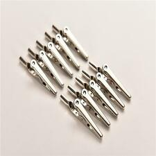 Single Prong Alligator Clips With Teeth Aligator Stainless Steel Clips MF
