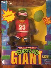TMNT Giant Size Slam Dunkin Don Teenage Mutant Ninja Turtles Donatello MIB MINT