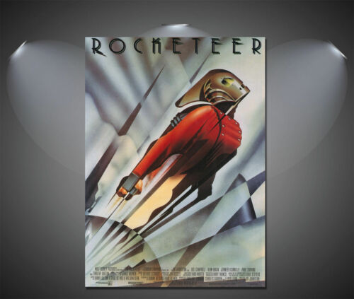 A0 A1 A2 A3 A4 The Rocketeer Vintage Movie CANVAS Art Print