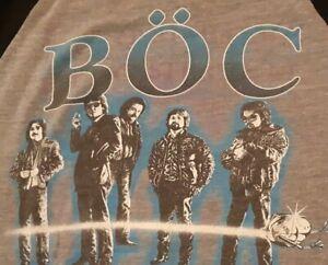 Blue-Oyster-Cult-Vintage-Tour-T-shirt-1980-039-s-1982-Concert