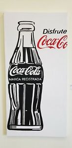 Big-Mexican-Coca-Cola-painting-POP-Art-tribute-to-Andy-Warhol-6-X-3