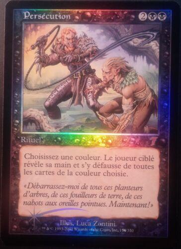 Persécution VF PREMIUM FOIL French 7th Persecute Magic mtg