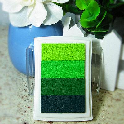Delicate DIY Oil Scrapbook Albums Gradient Stamp Set Ink Pad Inkpad Craft Tin