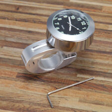 Aluminum Alloy Motorcycle Bike Handlebar Mount Clock Watches Vintage SE
