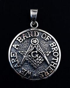 Pendentif-maconnique-Band-of-Brothers-Bijou-Franc-macon-Argent-925-6g-K13-25391