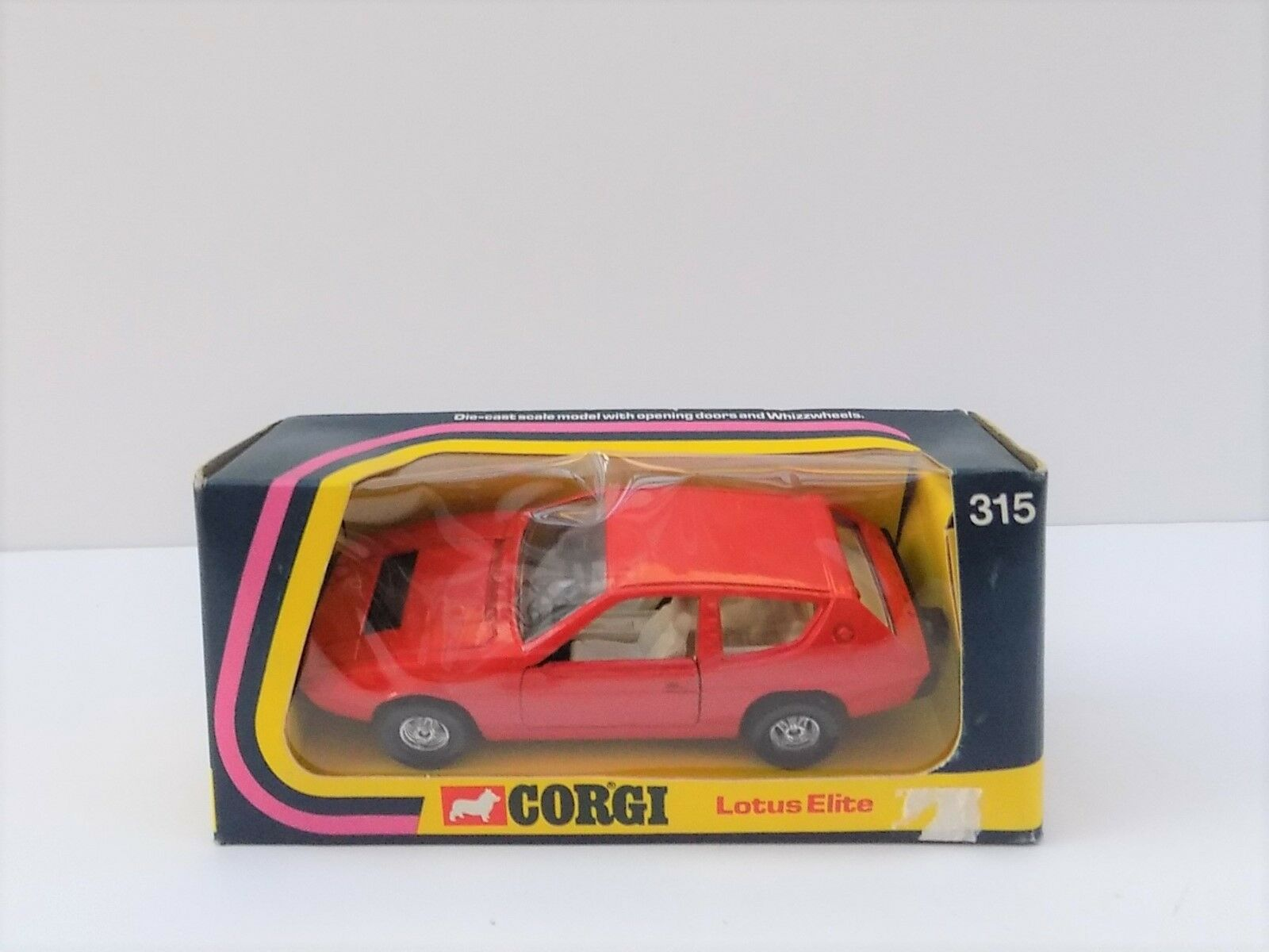 CORGI 315 LOTUS ELITE RED MINT BOXED 1975