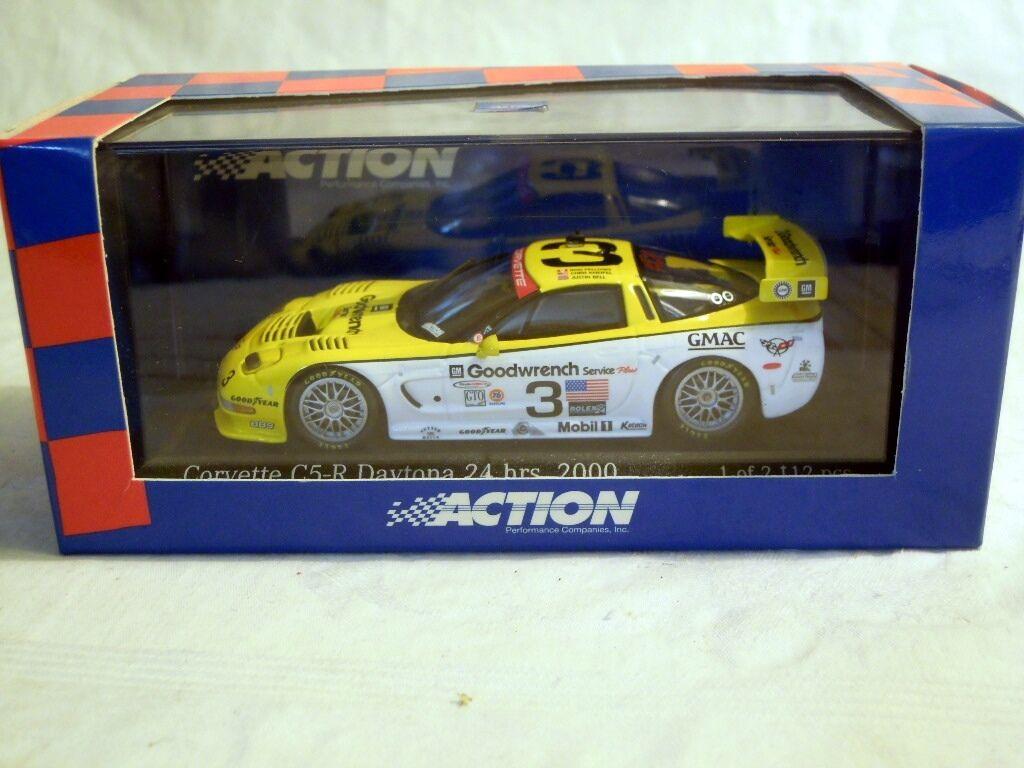 Action AC4001403  Corvette C5-R Daytona 2000, Fellows Kneifel Bell, NEU & OVP