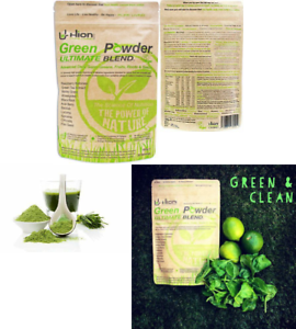 Green Powder - ULTIMATE BLEND. Vegan, alkaline & gluten ...