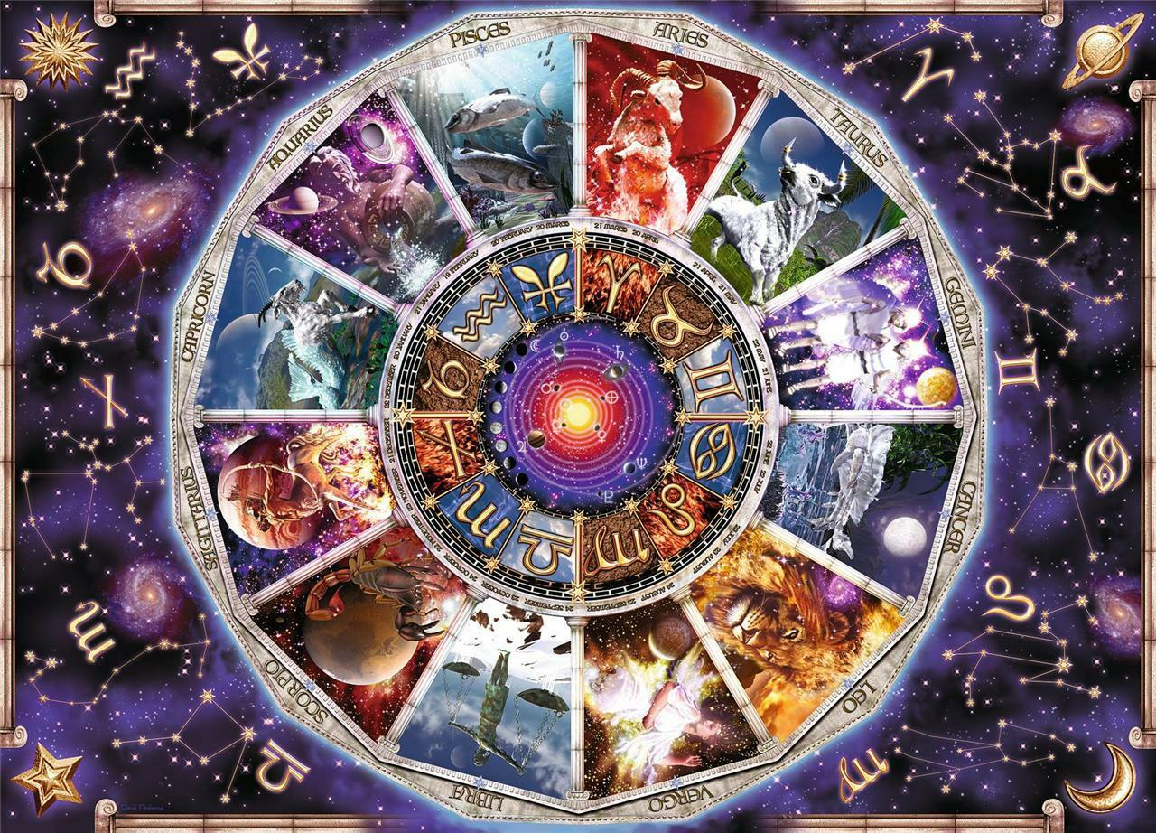 RAVENSBURGER JIGSAW PUZZLE ASTROLOGY DAVID PENFOUND 9000 PCS  17805