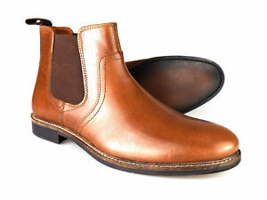 Mens Leather 12 7 Red 50 P Tan gratuito Size Uk Tape Chelsea p Rrp Newton Boots ICqBw