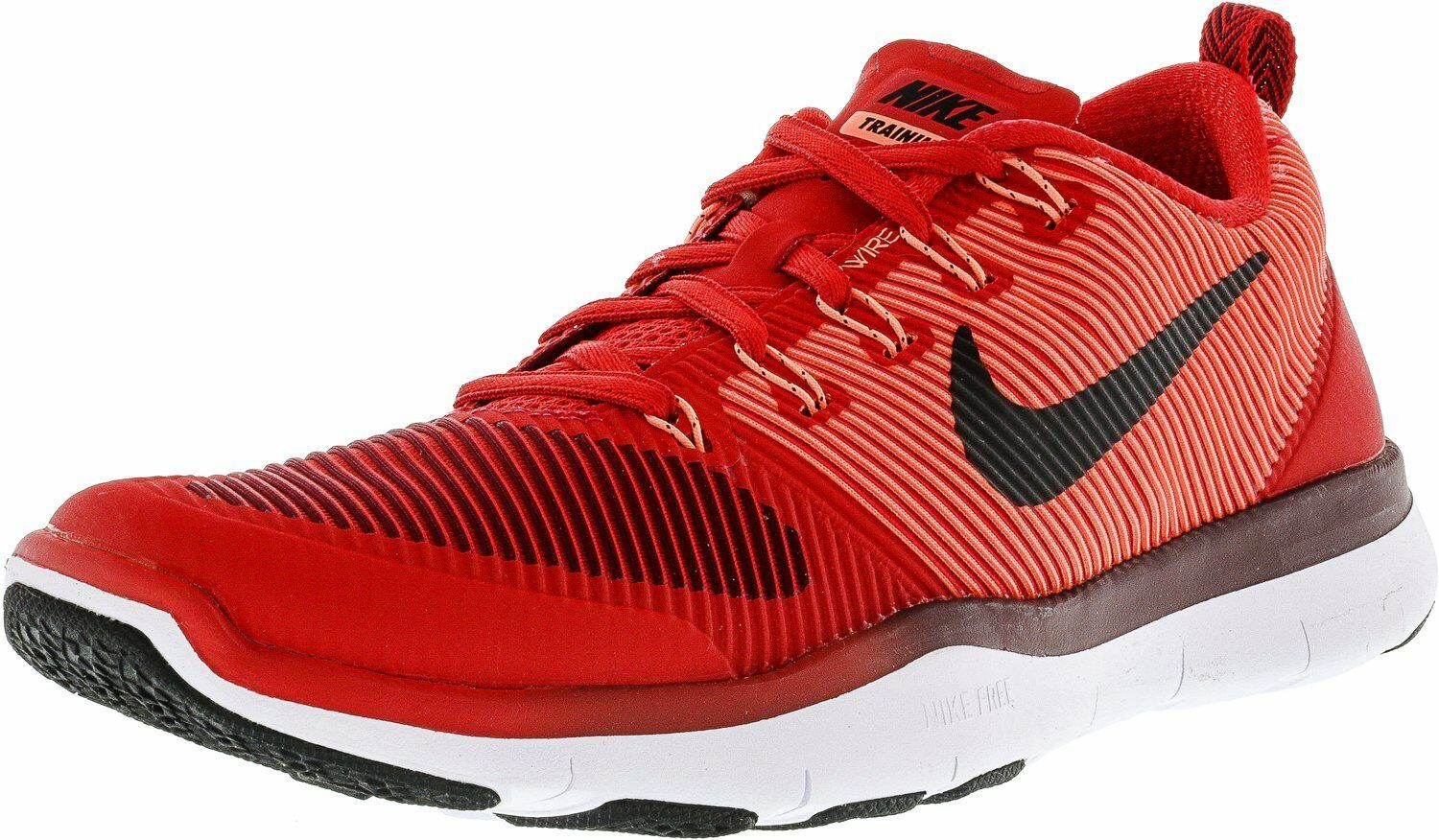 NIKE Men's Free Train Versatility Running Shoes University Red/Black 9 D(M) US