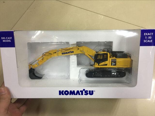 UH8090 Universal Hobbies Komatsu PC490LC-10 Excavator Construction Machine 1:50