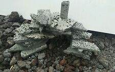 aquarium hardscape fish tank decoration basalt lava rock stone cave shelter den