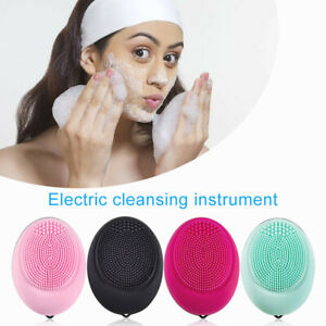 Electric-Face-Cleanser-Vibrate-Silicone-Cleansing-Brush-Facial-Massage-Skin-Care