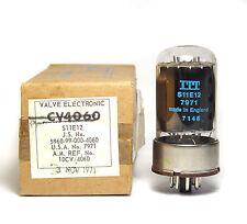 ITT Röhre CV4060 / S11E12, Highend 12E1 Beam Power Output Tube, MIL NOS