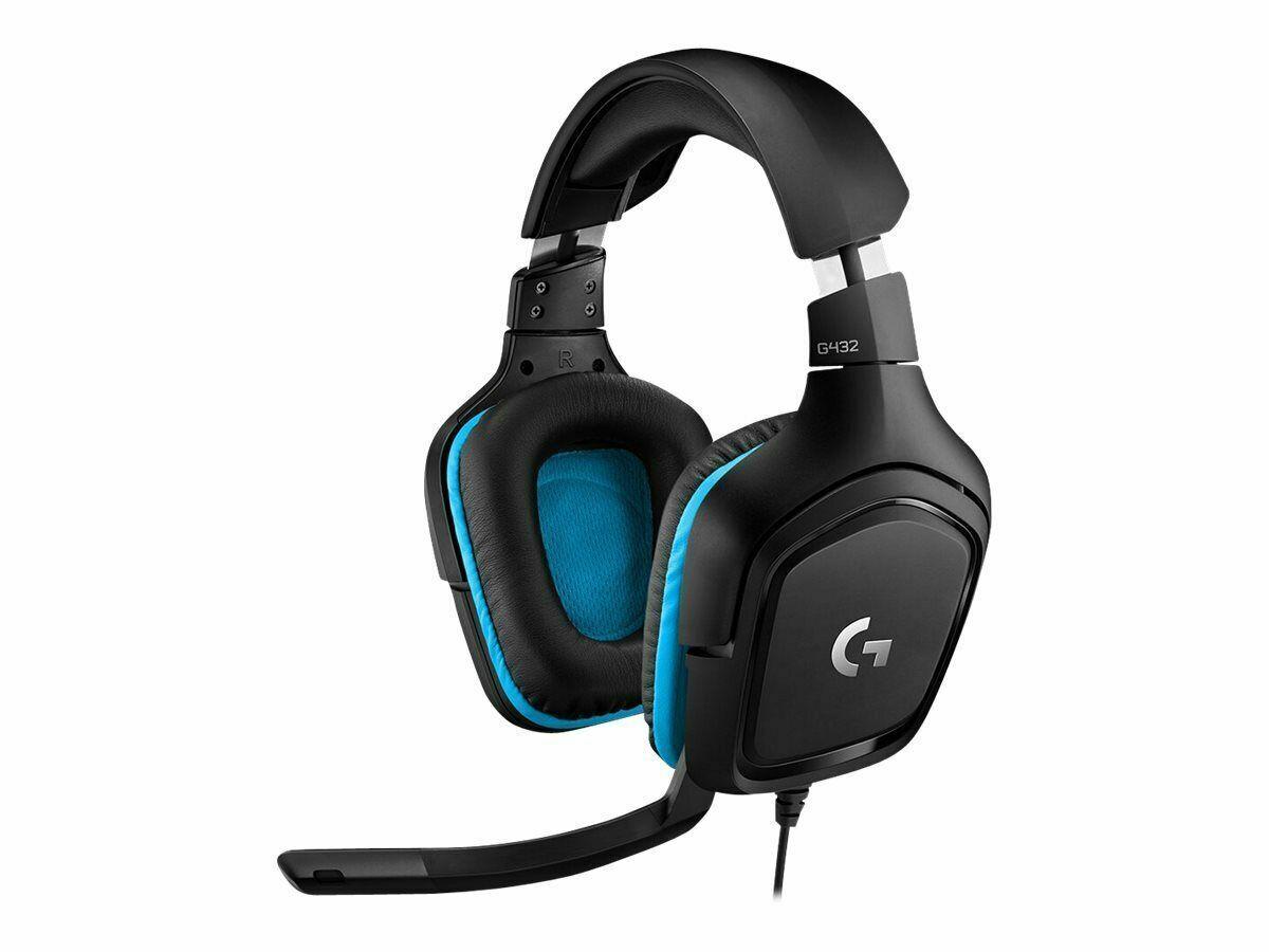 Logitech G432 Gaming Headset   eBay