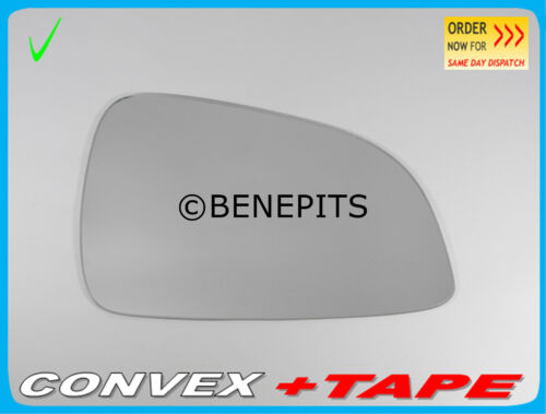 Right Side Wing Mirror Glass For VAUXHALL ASTRA 2009-2010 Convex  #395