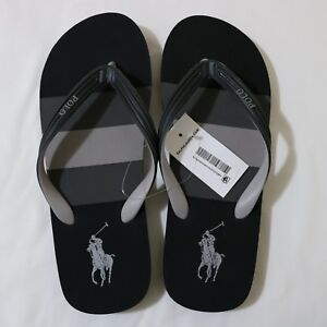 c0a0c5f3d5e238 Image is loading Polo-Ralph-Lauren-Men-Summer-Rubber-flip-flop-