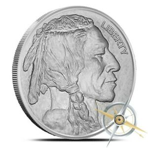 1-oz-Silver-Round-Buffalo-Nickel