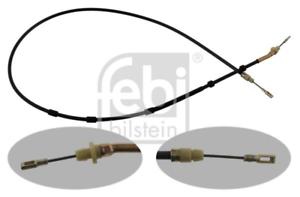 frein de stationnement pour dispositif de freinage Essieu arrière FEBI BILSTEIN 34394 Commande à câble