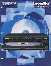 Pioneer CLD-M401, CLD-M301, CLD-D701, CLD-D501, CLD-S201Original Brochure