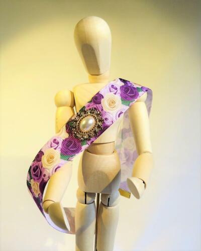 CG5726.. Gargantilla Collar con colgante de oro plateado libre de Reino Unido P/&p