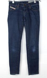 DIESEL Women Getlegg Slim Skinny Stretch Jeans Size W27 L32