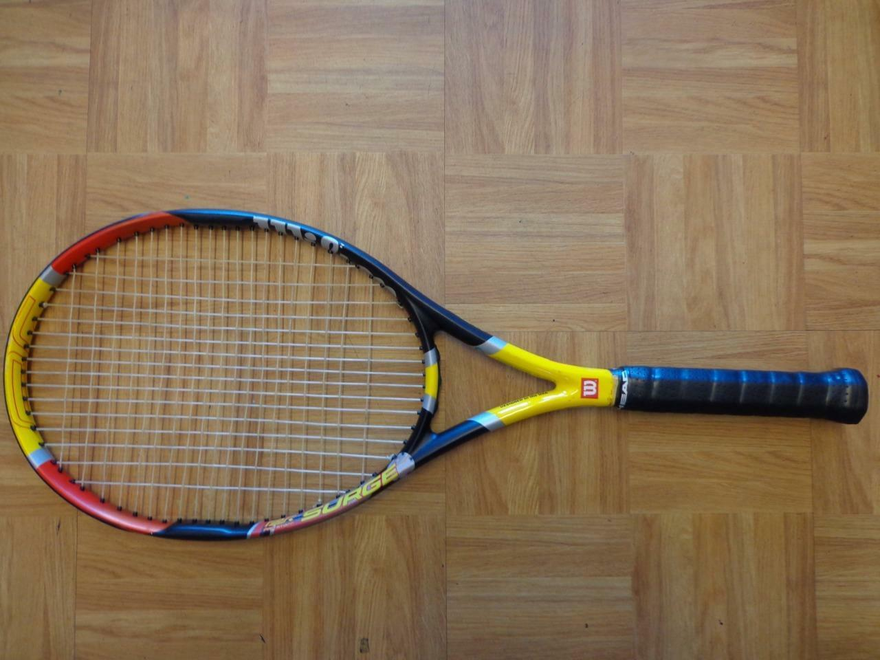 Wilson Hyper Pro Staff 5.1 Surge 100 Head 4 1 2 grip raquette de tennis