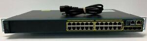 Cisco-WS-C2960S-24TS-L-24-Port-Managed-10-100-1000-Gigabit-Switch