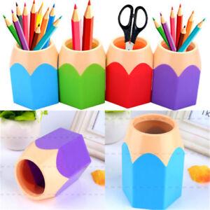 pencil pot cosmetic cup case makeup brush pen holder empty