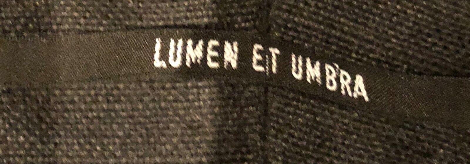 Lumen Et Umbra Parka schwarz Größe 52 Baumwolle Leinen Leinen Leinen | Die Königin Der Qualität  0b4905