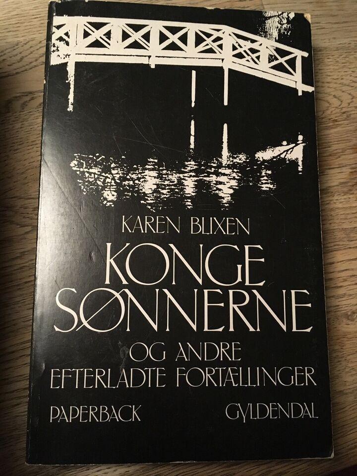 Konge sønnerne og andre efterladte fortællinger, Karen